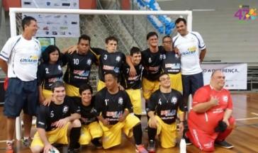 Alunos da APAE-Franca participaram da I Copa Brasil de Futsal Down