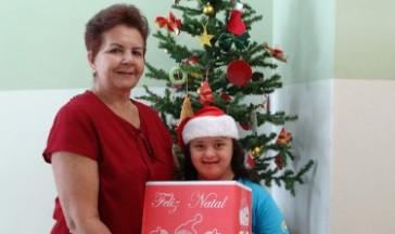 Entrega das Cestas de Natal
