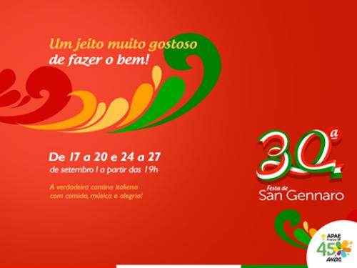 30a. Festa Di San Gennaro - edição 2015