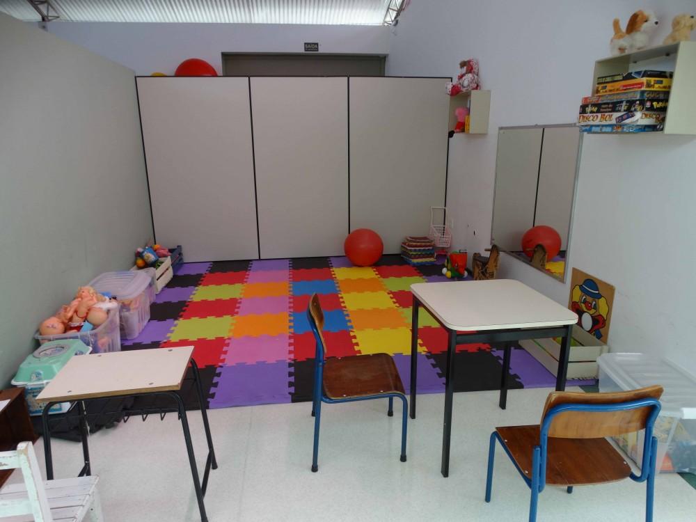 Sala de atendimento de Terapia Ocupacional