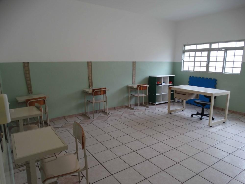 Sala de aula Núcleo de Atendimento Especializado ao Autista